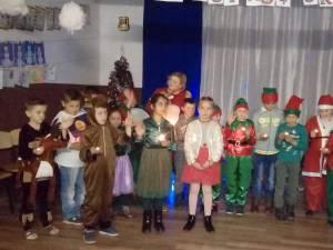 """""""Renii lui Moș Crăciun"""", cu micuții de la Școala Gimnazială Zvoriștea"""