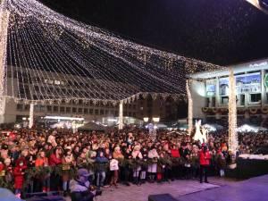 Aproape 10.000 de suceveni au fost prezenți la Revelionul organizat de Primăria Suceava