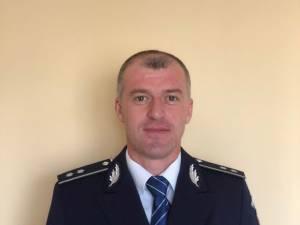Comisarul de poliției Marius Ciotău, șeful Secției Rurale de Poliție Gălănești și președintele Corpului Național al Polițiștilor, organizația Suceava