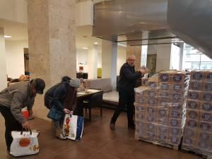 Distribuirea ajutoarelor de la UE