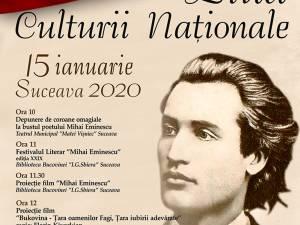 Programul Zilei Culturii Naționale, la Suceava