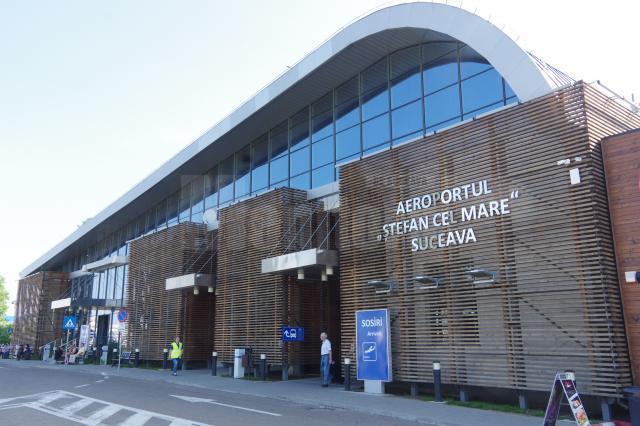 Aeroportul Suceava a înregistrat peste 430.000 de pasageri, în cursul anului 2019