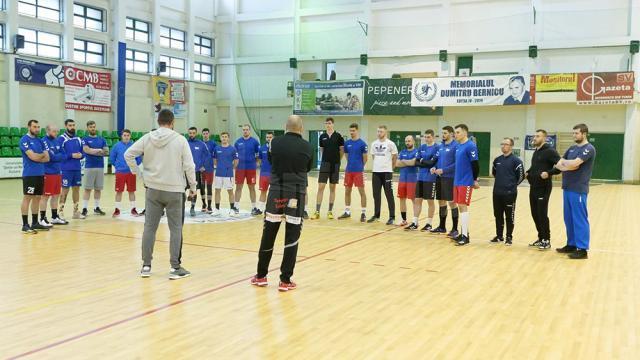 Handbaliştii de la CSU Suceava pregătesc intens sezonul de primăvară