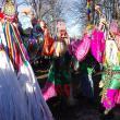 Renumitele măști din Ruginoasa, pe scena festivalului de la Drăgușeni