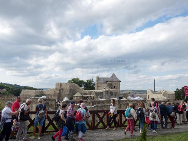 În 2019 au fost 210.308 vizitatori la Cetatea de Scaun, cu 8,7% mai mulți față de anul 2018