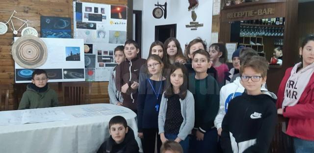 Clubul de astronomie și robotică, de la Școala Nr. 1 din Gura Humorului, culege primele roade