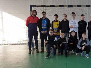 Echipa de juniori IV de la CSU Suceava, antrenată de Daniel Ionasciuc