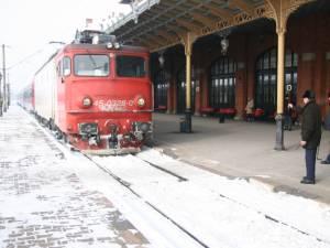 Două trenuri au fost anulate ca urmare a grevei reparatorilor de locomotive