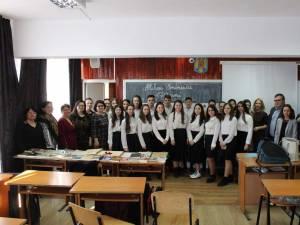 """Ziua Culturii Naționale, sărbătorită la  Liceul Tehnologic """"Ștefan cel Mare"""" Cajvana"""