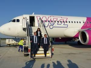 Gheorghe Flutur a anunţat oficial că Wizz Air va avea zboruri din Suceava spre Viena