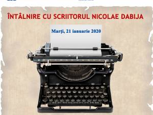 Nicolae Dabija, la USV