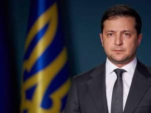 Preşedintele Ucrainei, Volodimir Zelenski Foto: romania.europalibera.org