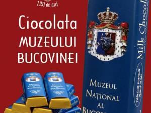 Muzeul Bucovinei va avea propria sa ciocolată, din 25 ianuarie, când împlineşte 120 de ani