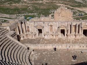 Jerash, unul dintre cele mai cunoscute situri arheologice romane