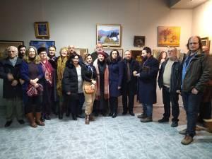 """Expoziția de pictură, grafică, tapiserie și fotografie """"Anuala Artelor"""", vernisată la Galeria """"Ion Irimescu"""" Suceava"""