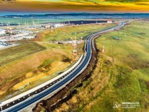 Ruta ocolitoare a Sucevei  Foto: DroneMaster.ro
