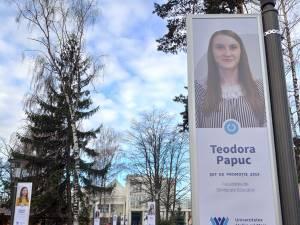 Aleea şefilor de promoţie de la Universitatea din Suceava