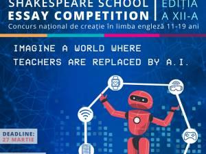 Elevii creativi care stăpânesc bine limba engleză pot câștiga o tabără în Marea Britanie