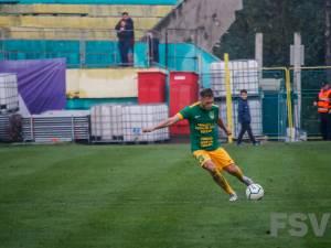 Fundaşul golgeter Drugă a punctat din nou pentru Foresta. Foro Costi Solovastru