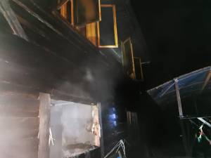 Incendiu la o casa din satul Ortoaia, din Dorna Arini