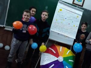Activitate desfăşurată la Şcoala Gimnazială Ciocăneşti, în cadrul Campaniei RESPECT