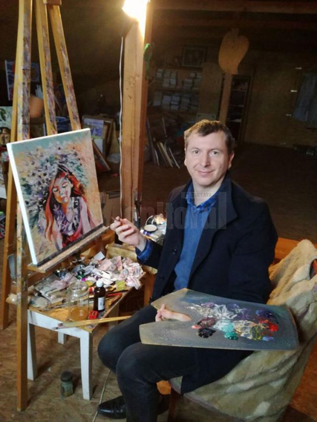Artistul plastic Cătălin Alexandru Chifan