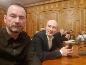 Marian Andronache și Florin Hrebenciuc au fost prezenţi la Consiliul Executiv Naţional al PMP