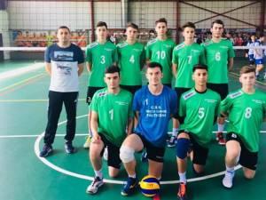 Voleibaliştii fălticeneni au încheiat învingători ultimul meci de campionat