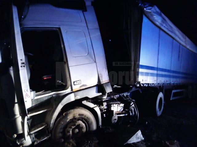 Accidentul a blocat traficul de pe E 85