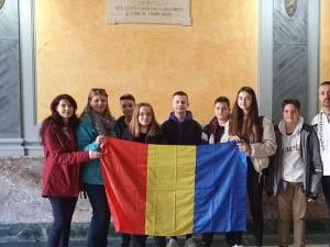 Elevi și profesori din Rădăuți, în Sicilia, în cadrul unui proiect Erasmus+