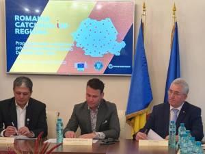 Ion Lungu, vicepreședinte al AMR, la discuțiile privind împărțirea finanțărilor POR