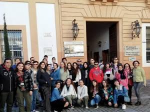 """Elevi ai Colegiului """"Nicu Gane"""" s-au specializat în Spania în artă grafică, estetică personală şi marketing"""