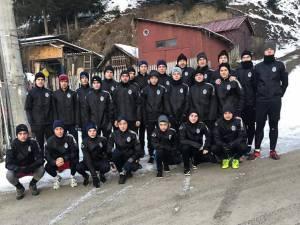 Echipele Under 17 și Under 19 de la Juniorul Suceava au efectuat un stagiu de pregătire centralizată la Vatra Dornei