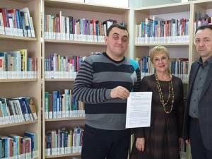 """Biblioteca Bucovinei şi Biblioteca Universităţii """"Ştefan cel Mare"""" au semnat primul protocol de colaborare cu Societatea Bibliotecarilor Bucovineni din Cernăuţi"""