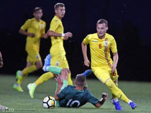 Sebastian Nechita a jucat o repriză pentru reprezentativa Under 17 a României în amicalul cu Israel