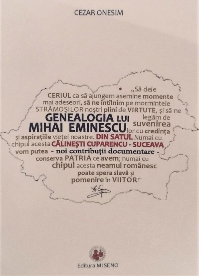 """""""Genealogia lui Mihai Eminescu"""""""