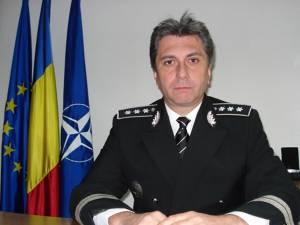 Comisarul-şef Ioan Nicuşor Todiruţ, fostul şef al IPJ Suceava