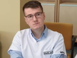 Dr. Dorin Achitei, medicul sef al sectiei Gastroenterologie
