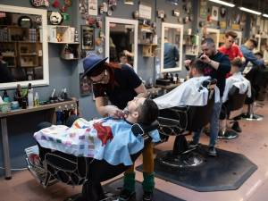 La barbershop, la Dizzy