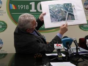 Edilul Sucevei, Ion Lungu, a prezentat propunerea sa de începere a lucrărilor la ruta alternativă Suceava - Botoșani