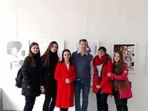 Expoziție de pictură, grafică și acuarelă, la Biblioteca Bucovinei