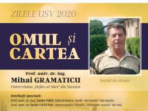 """Întâlnire cu profesor univ. dr. ing. Mihai Gramaticu, în cadrul evenimentului """"Omul și cartea"""""""