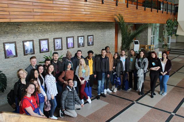 O nouă serie de studenți străini la USV