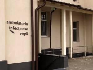 Sectia Boli infectioase a Spitalului de Urgenta Suceava