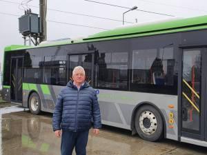 Cele 25 de autobuze care vor fi livrate în toamnă la Suceava vor fi verzi precum cupola celui vizitat de Lungu în curtea BMC CITY BUS