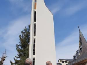 Lucrările de realizare a Turnului Unirii sunt finanțate parțial de Primăria Suceava