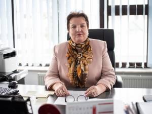 Silvia Boliacu, director executiv al Direcției de Sănătate Publică Suceava