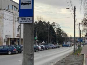 O nouă stație de autobuz, Universitate, a fost înființată în Suceava