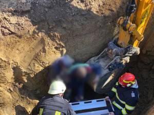 Bărbat de 53 de ani, surprins de un mal de pământ la Udești