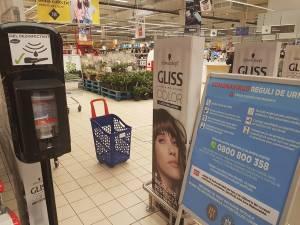 Măsuri de prevenție împotriva răspândirii coronavirusului, implementate de Shopping City Suceava